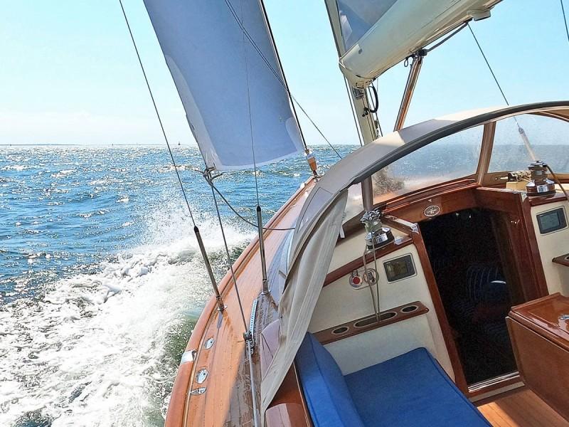 Leeward Side Under Sail