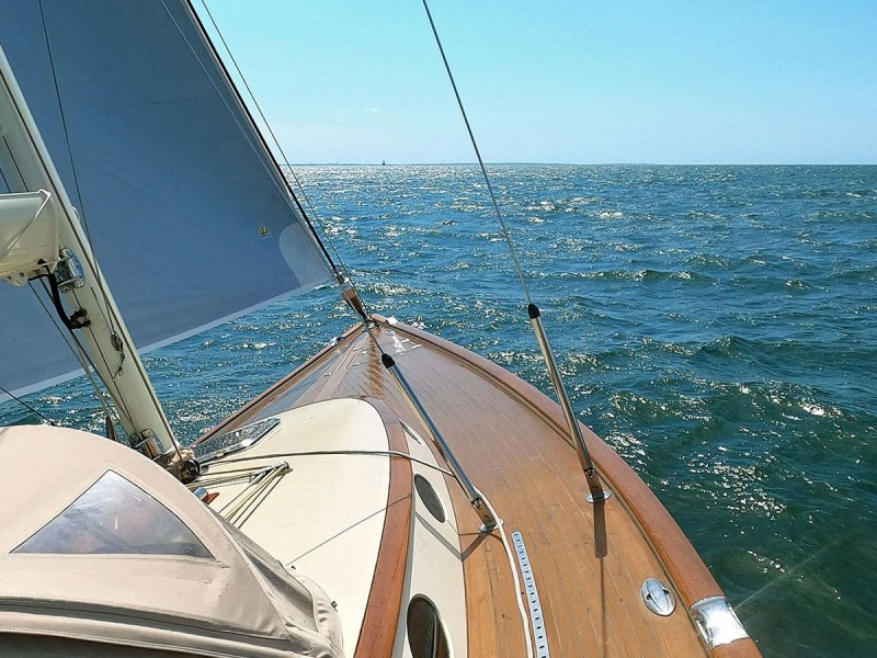 Looking Forward Under Sail