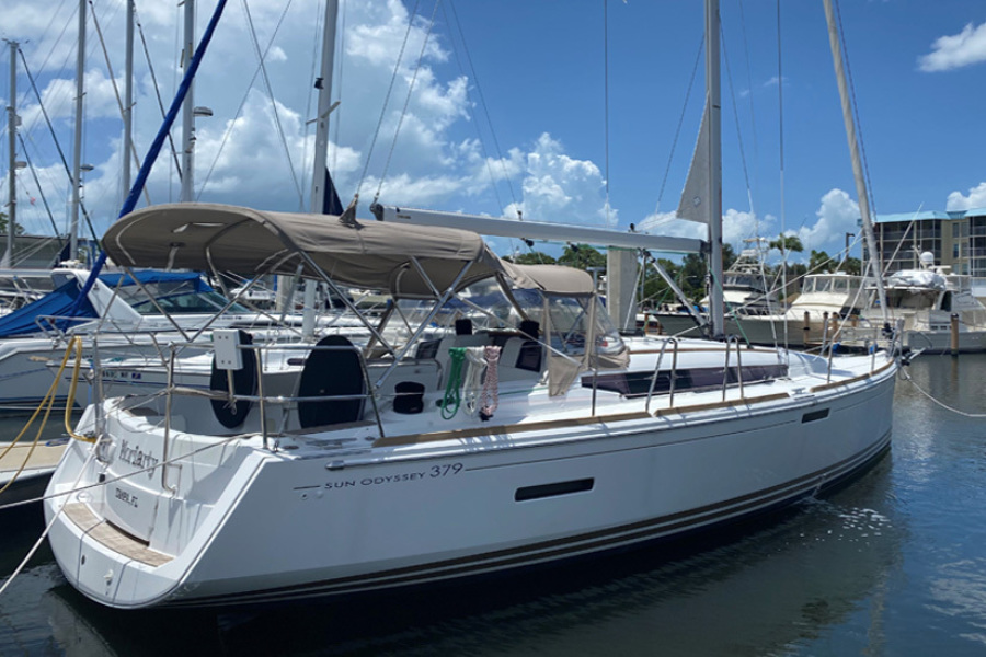 Jeanneau-Sun Odyssey 379 2014-Moriarty St. Petersburg-Florida-United States-2014 38 Jeanneau Sun Odyssey 379  Moriarty  Main Profile-1445811-featured