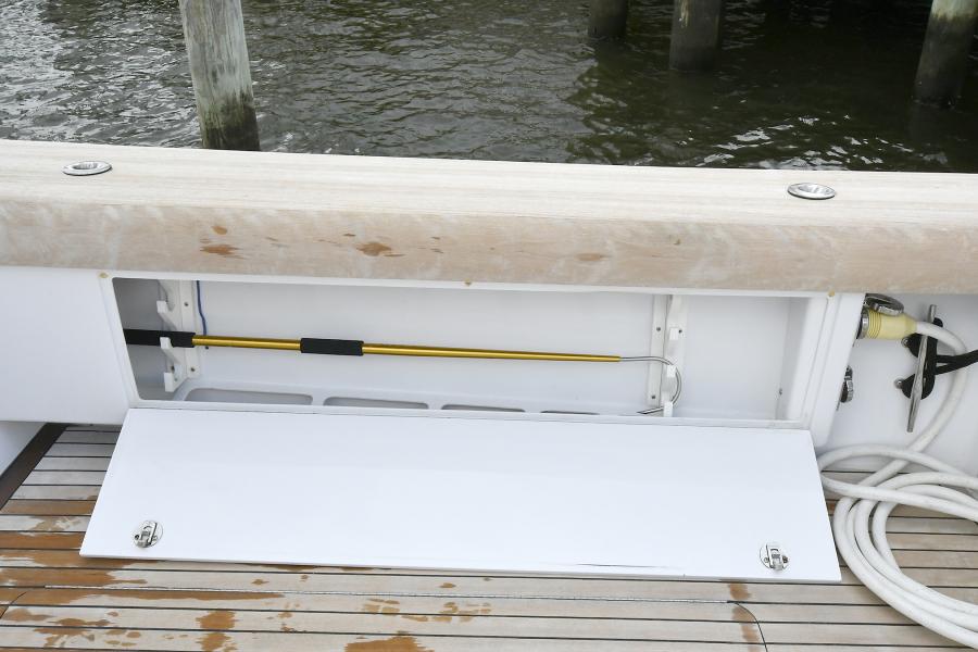 Port & Starboard Lockers