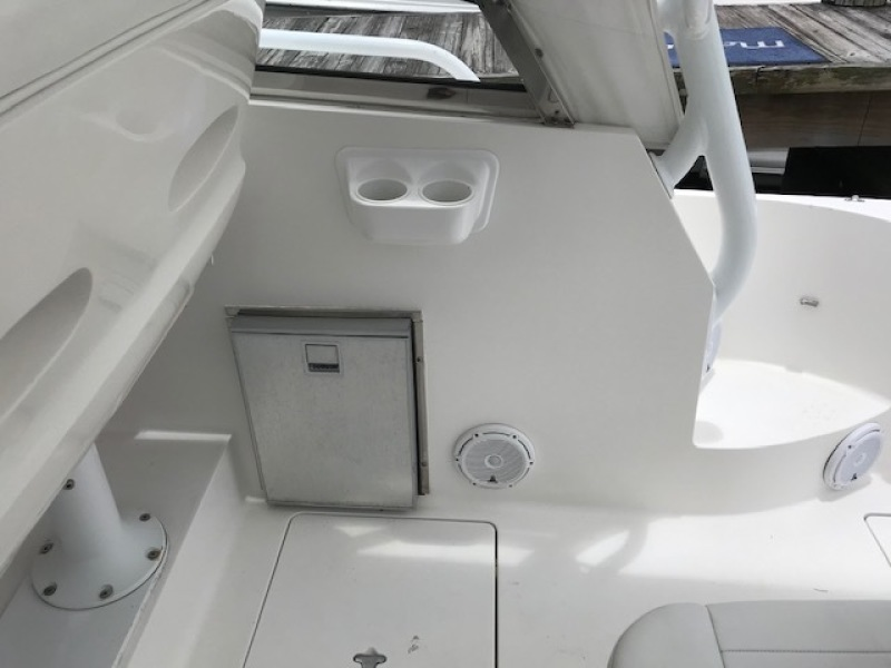 Intrepid 43 - Conched Out - Fridge & Cup holders