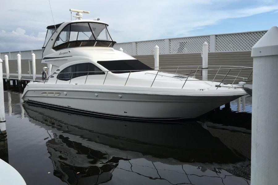 Sea Ray-44 Sedan Bridge 2007-Diana Longboat Key-Florida-United States-2007 44 Sea Ray SB  Diana  Profile-1445116-featured