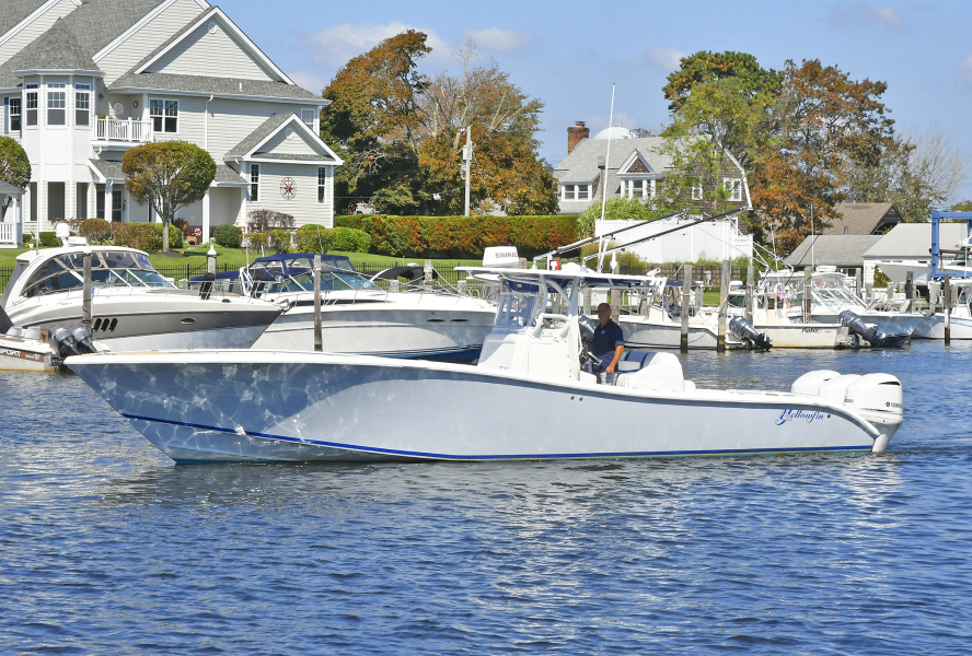 Yellowfin-36 Center Console 2019 -Patchogue-New York-United States-Port Side-1468837-featured