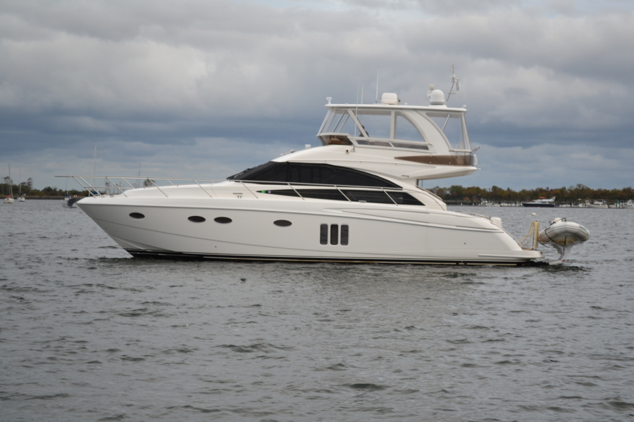 Princess-54 Flybridge 2008-AMOLIN Huntington-New York-United States-Port Side-1447804-featured