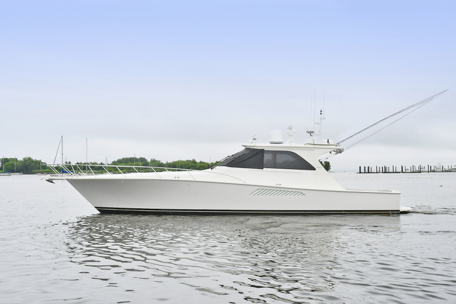 Viking-52 Sport Yacht 2007-Laissez Faire Staten Island -New York-United States-Port Side-1450610-featured