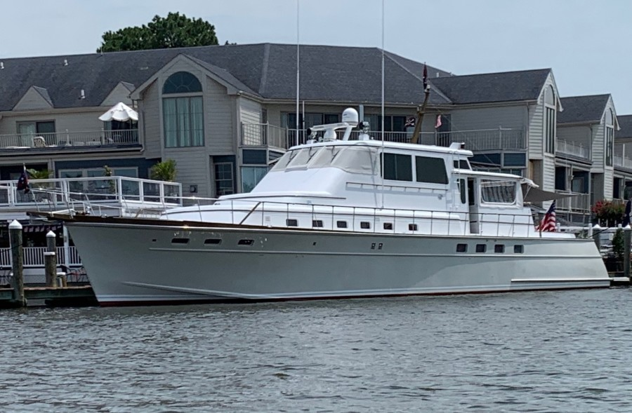 Picture Of: 78' Huckins 1982