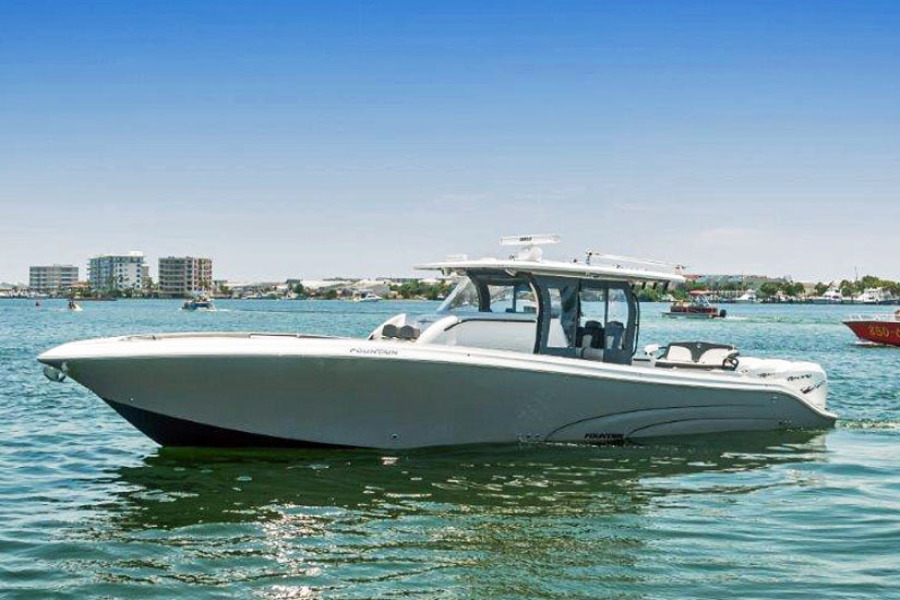 Fountain-43 NX 2019-Galati Yacht Sales Trade Washington-North Carolina-United States-2019 Fountain 43 NX  Galati Yacht Sales Trade-1457750-featured