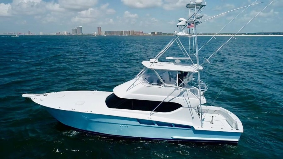 photo of 55' Hatteras 55 Convertible 2001