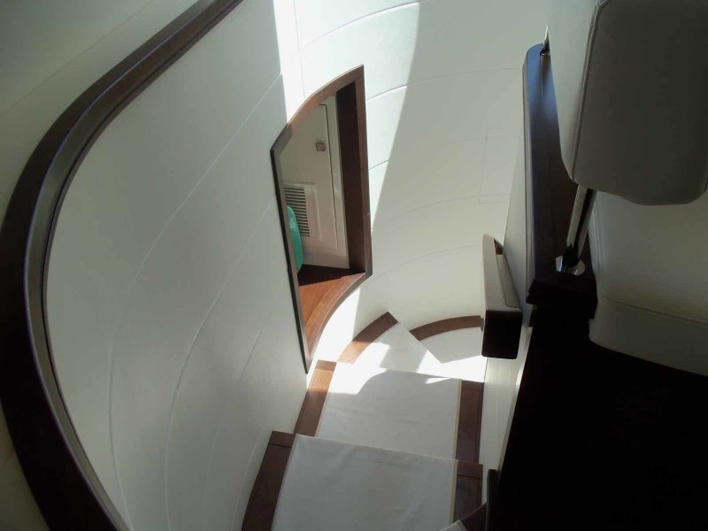 Companionway From Galley