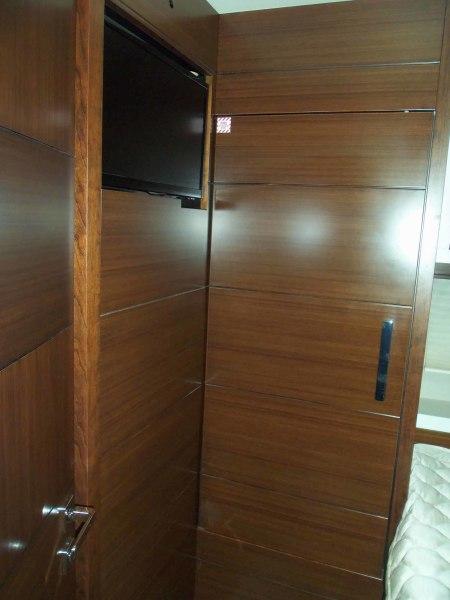 Starboard Guest Cabin Looking Forward