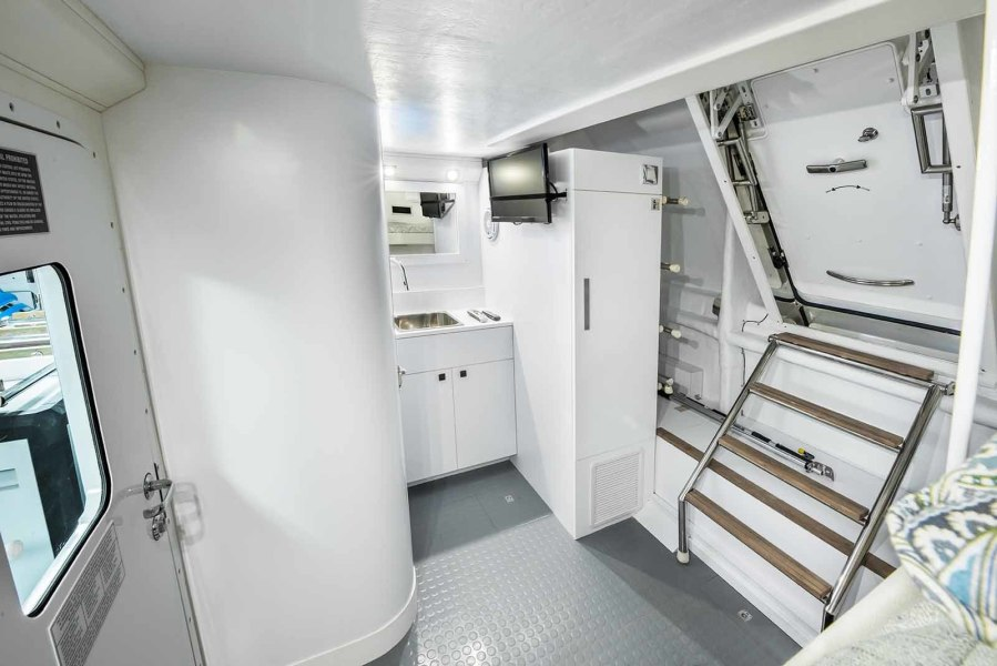 Crew Cabin To Starboard