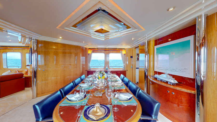 Feadship 153 - EXCELLENCE - Dinette