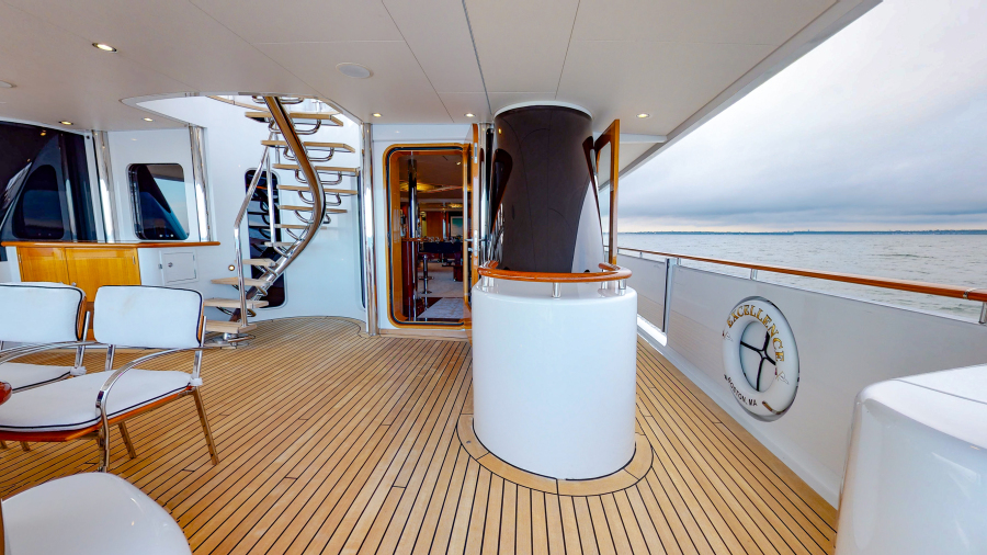 Feadship 153 - EXCELLENCE - Aft Deck