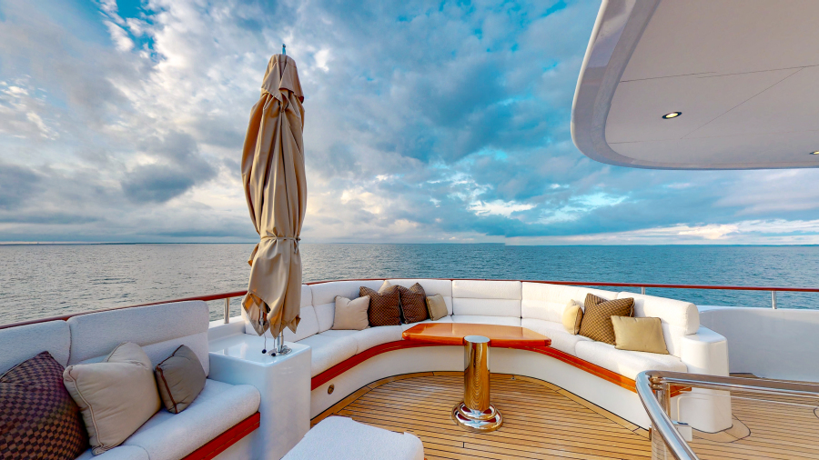 Feadship 153 - EXCELLENCE - Sundeck Lounge
