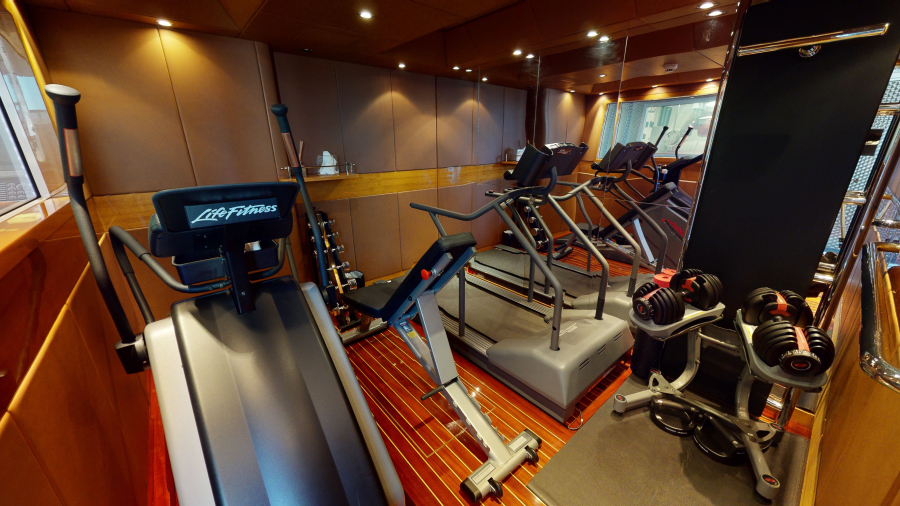 Feadship 153 - EXCELLENCE - Gym