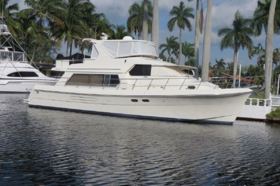 photo of 55' Hampton 558 Pilothouse 2004