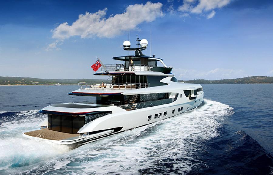 GTT 165 yacht for sale