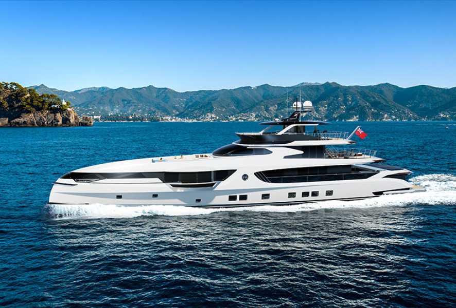 GTT 165 yacht for sale