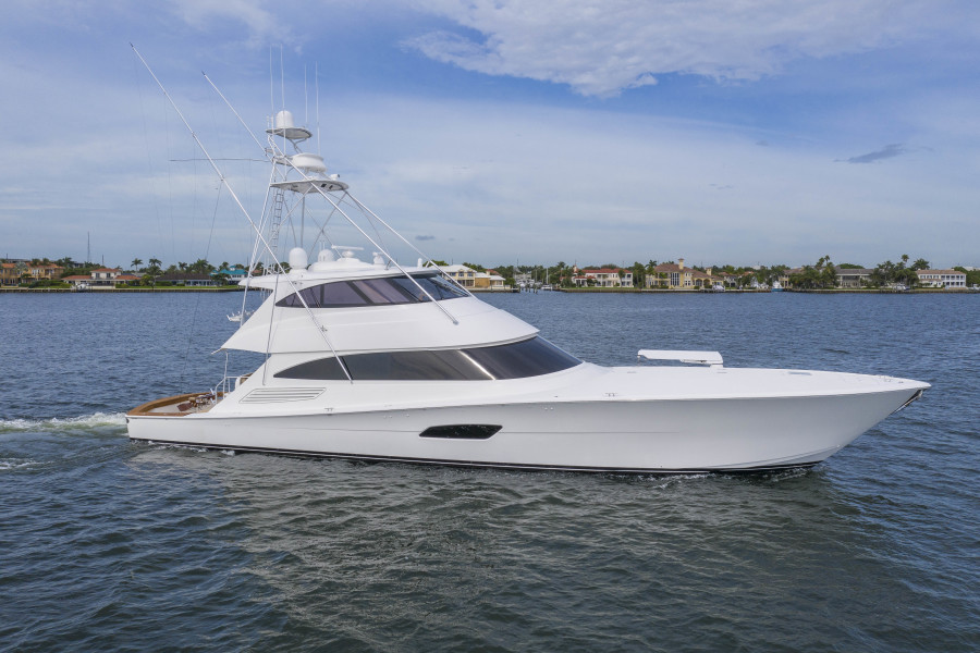 Viking-Enclosed Bridge Sportfish 2016-Fa La Me Palm Beach-Florida-United States-Profile-1487816-featured