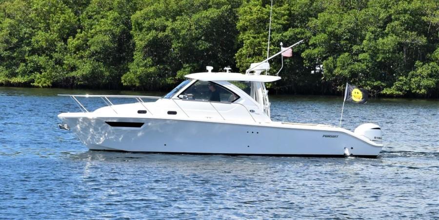 Pursuit-325 Offshore 2020-Coo Coo Miami-Florida-United States-Port Profile-1475317-featured