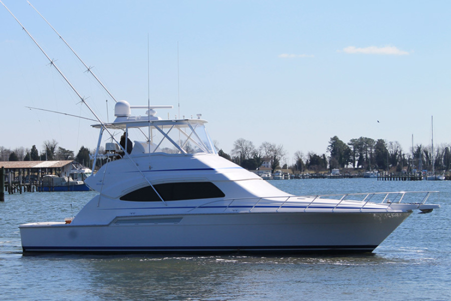 2008 Bertram 51 Sportfish Profile