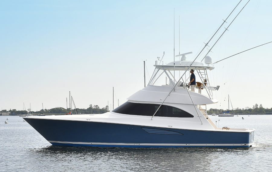 Viking-48 Convertible  2019 -Norwalk -Connecticut-United States-Port Side-1479143-featured