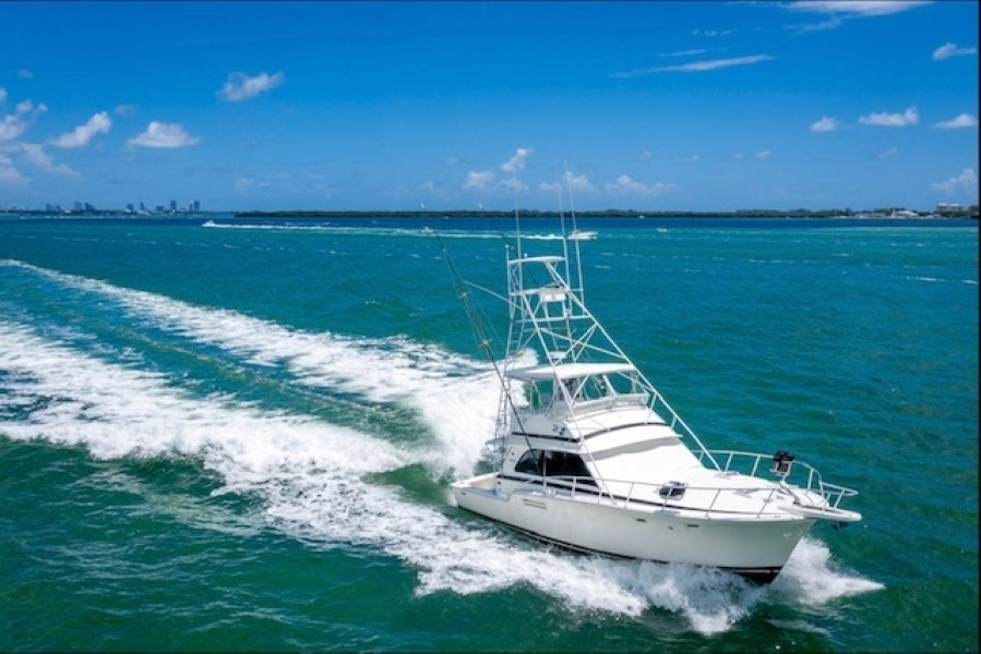 50 Running Bow Starboard