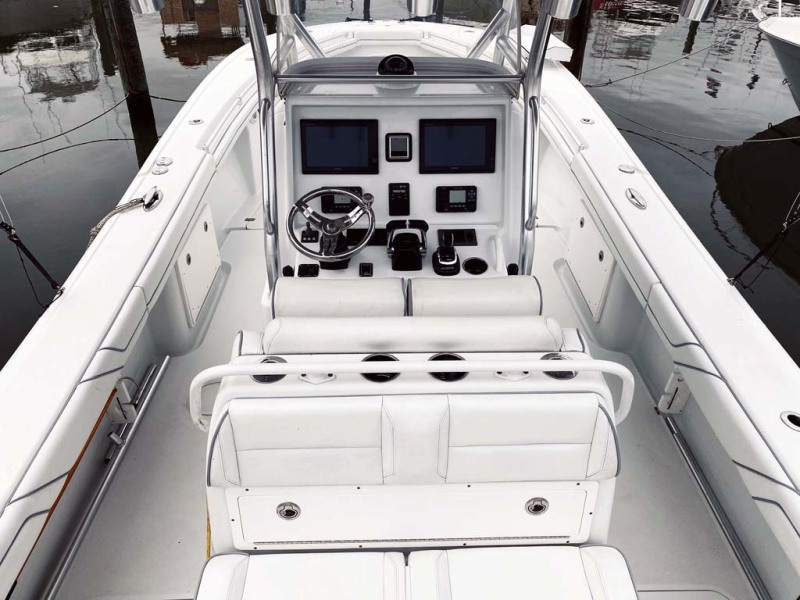Center Console And Helm