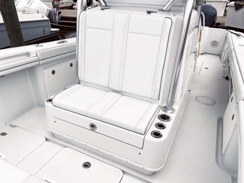 Forward Seating And Storage