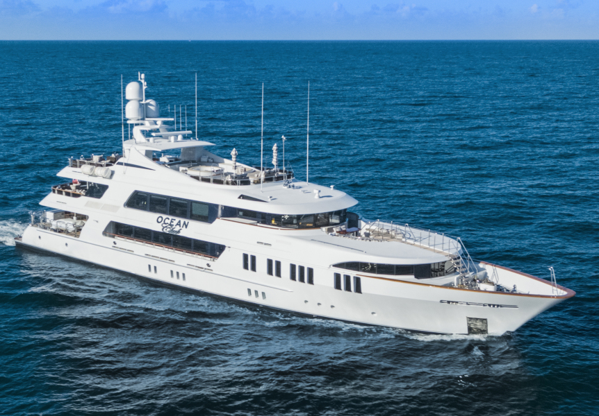 photo of 164' Trinity Yachts Tri-Deck Motor Yacht 2009
