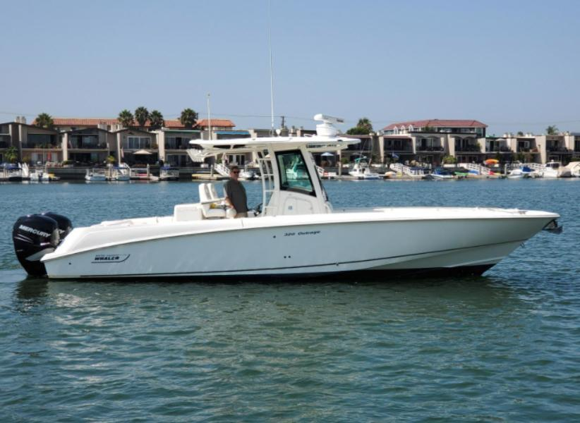 Boston Whaler-320 Outrage 2014-Saya Huntington Beach-California-United States-1489402-featured