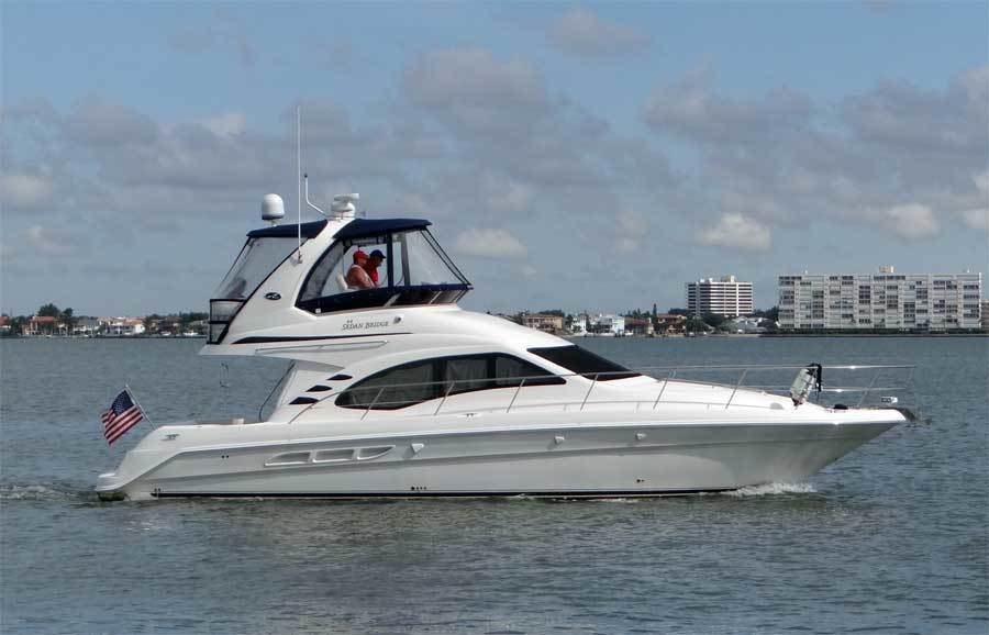 Sea Ray-44 Sedan Bridge 2006-Page Two St Petersburg-Florida-United States-Main Profile-1490083-featured