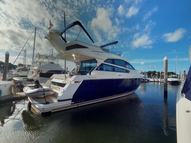 Fairline-Squadron 50 2014-INSANITY Warwick-Rhode Island-United States-1491345-featured