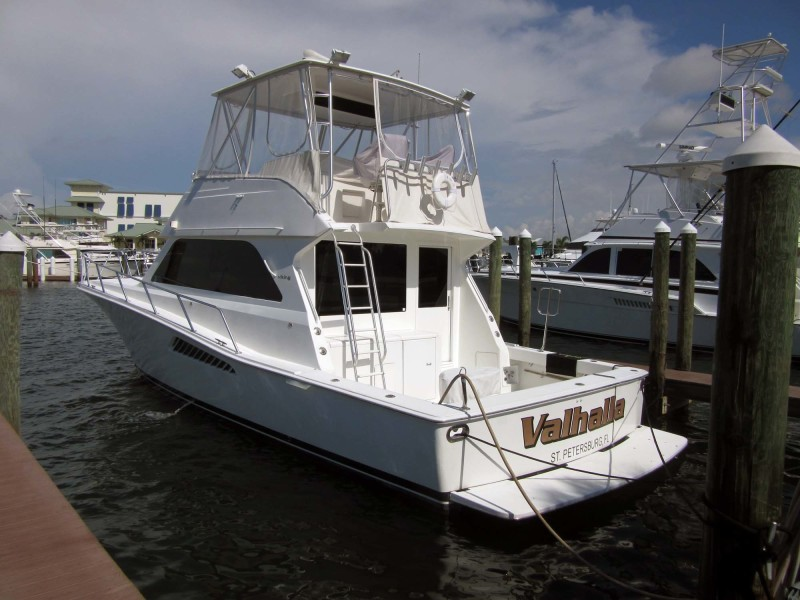 Viking-Flybridge Convertible 2001-VALHALLA Tierra Verde-Florida-United States-Port Profile-1492709-featured