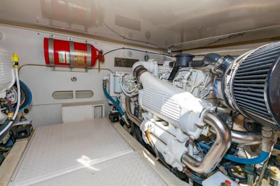 39 Tiara Engine Room