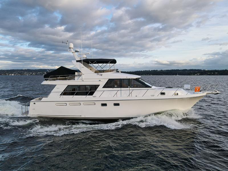 Ocean Alexander-548 Pilothouse 1998-Black Gold Seattle-Washington-United States-1517310-featured
