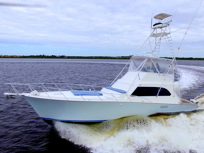 Photo of 50' Post Sport Fish 1989