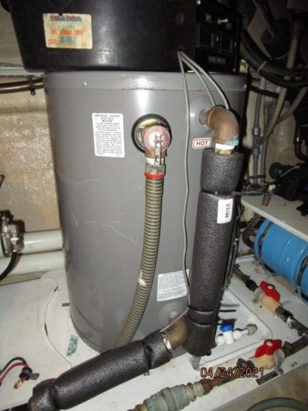 42' Grand Banks water heater