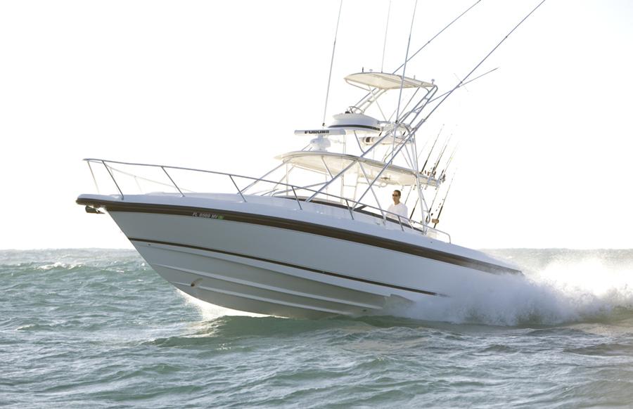 Intrepid-377 Walkaround 2005-Rock Boat REFIT 2018 Dania Beach-Florida-United States-377 Intrepid Profile-1539583-featured