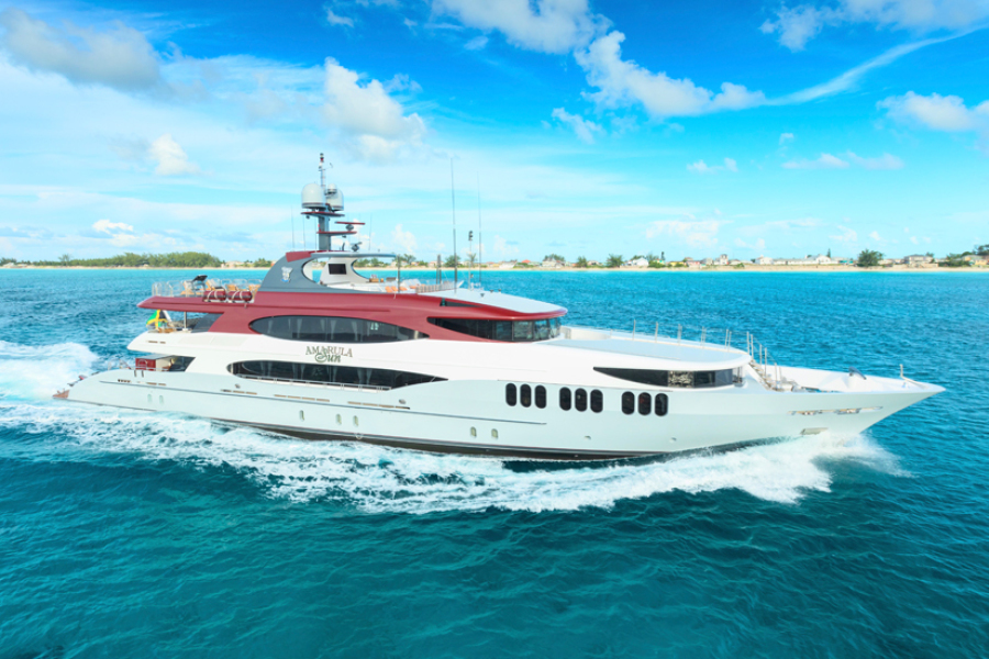 photo of 164' Trinity Yachts 164 Tri-deck Motor Yacht 2008