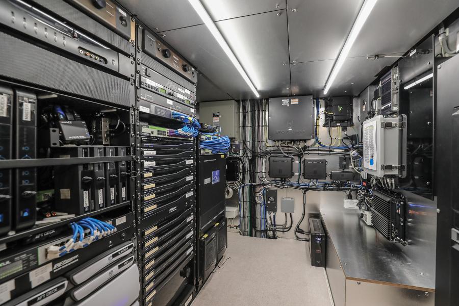 A/V and Electronics Room
