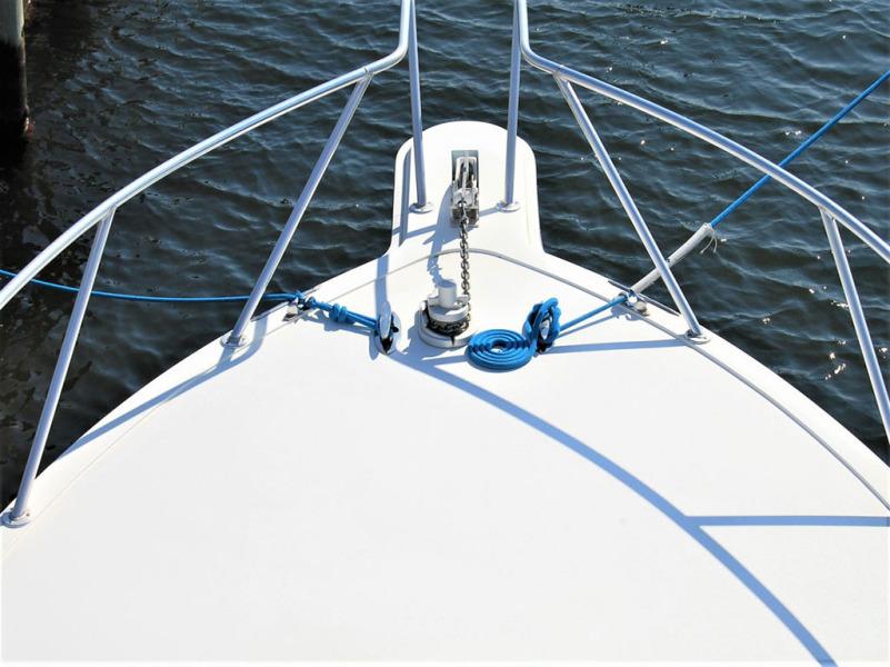Windlass with Anchor