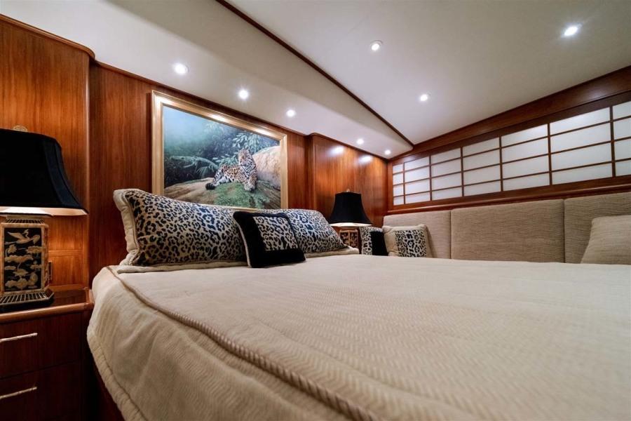 VIP Stataeroom with Queen Walkaround Berth
