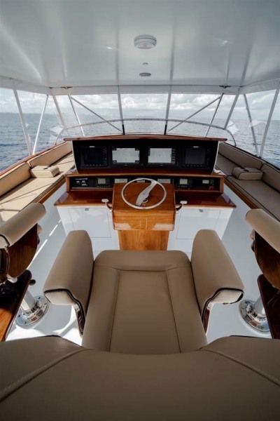 Center Console Style Helm