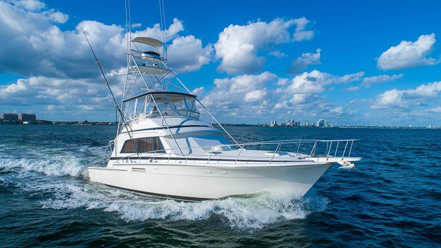 Photo of 54' Bertram Sport Fisherman 1989