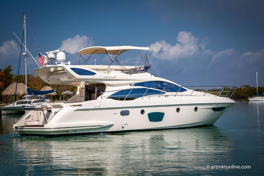 Azimut-Flybridge 2009-Marussia Fort Lauderdale-Florida-United States-1519279-featured