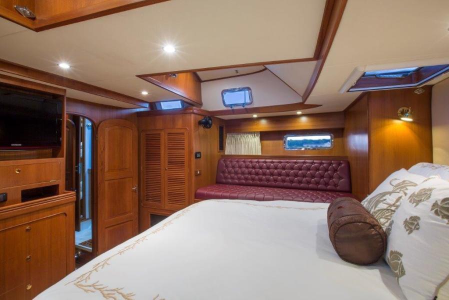 Owner's Stateroom, Starboard Side