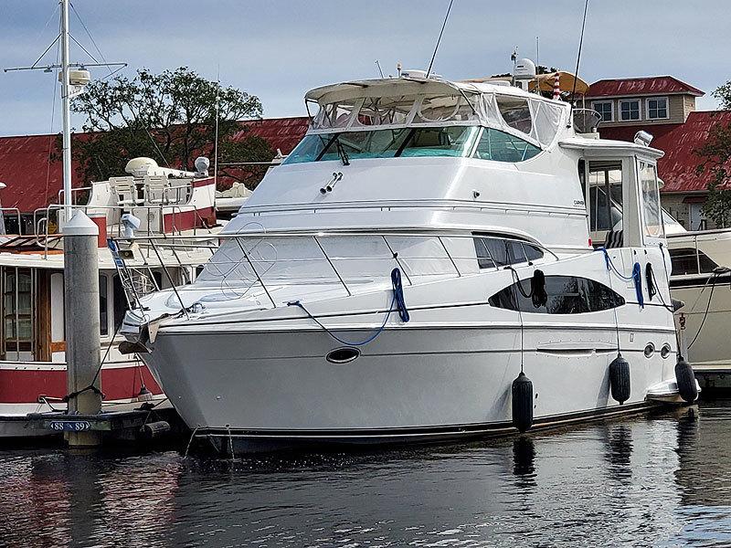 Carver-466 Motor Yacht 2001-Sea Trek North Myrtle Beach-South Carolina-United States-1539866-featured