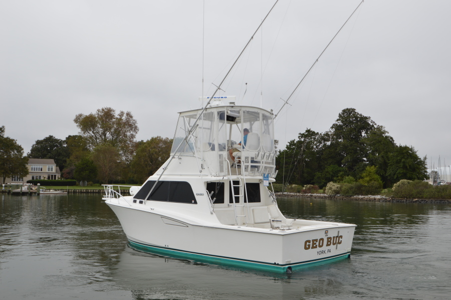 photo of 35' Cabo 35 Convertible 2001