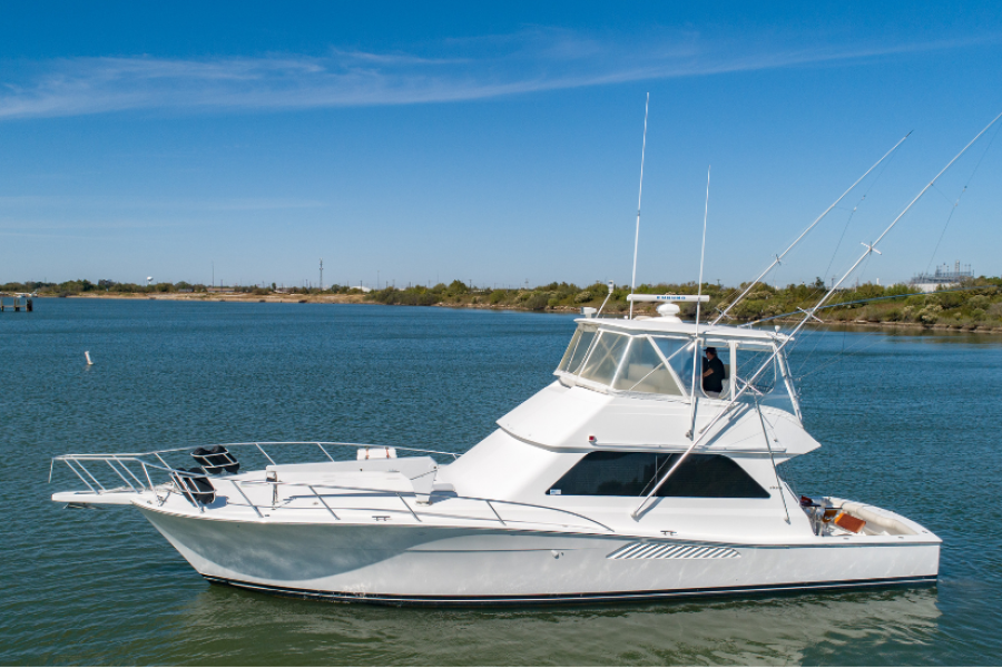 Viking 50 Convertible 2001 Groove Dog